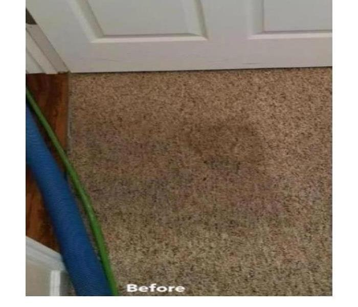 Carpet Cleaning After Storm Damage Before