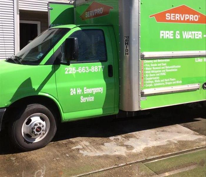 Water Damage Call SERVPRO of Ascension Parish for 24 hour Emergency Services