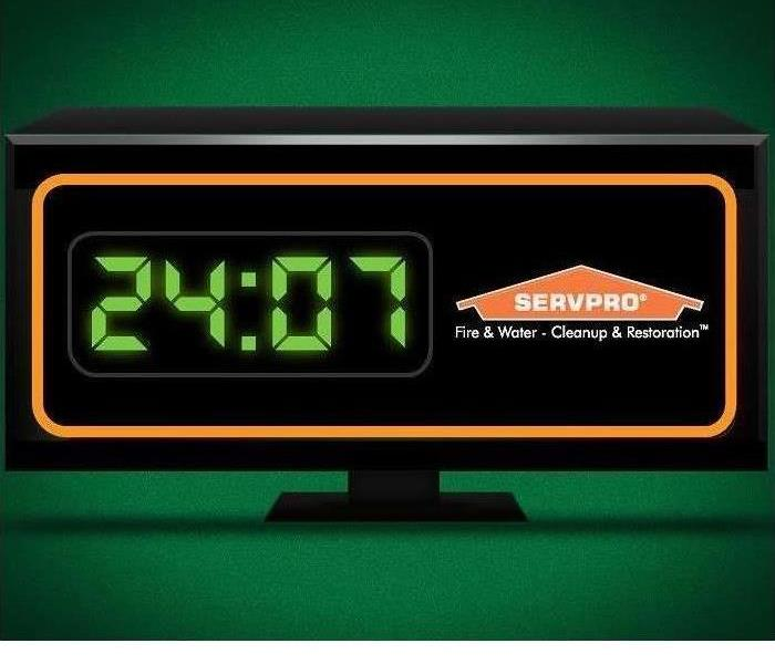 "Why SERVPRO SERVPRO of Ascension Parish is ""Faster to Any Size Disaster"""