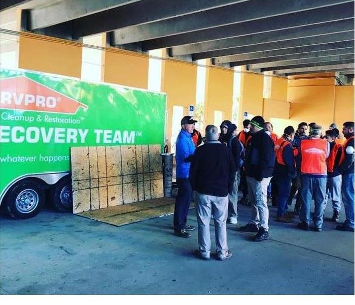 Why SERVPRO No Job to Big or Small