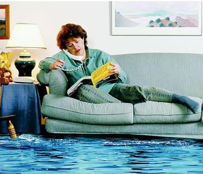 Water Damage Restoration Company vs. Contractor